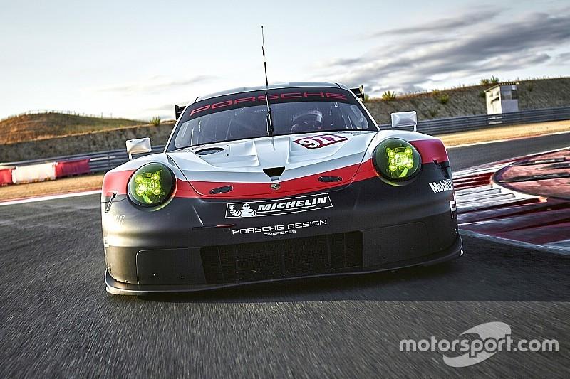 保时捷发布新款911 RSR赛车,剑指GTE组别冠军