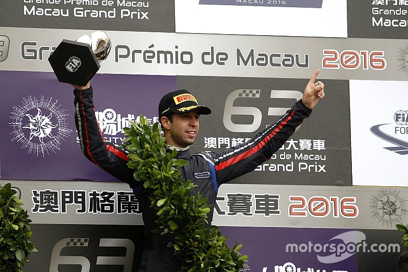 """Félix da Costa, vainqueur à Macao - """"Je n'étais pas censé venir!"""""""