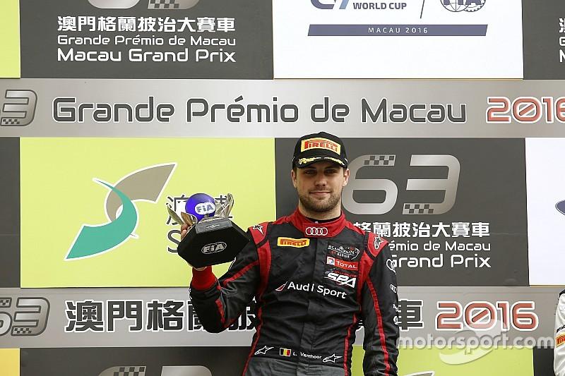 Vídeo: mesmo capotando, Vanthoor vence prova em Macau