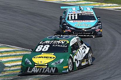 Fraga and Barrichello follow the championship order and start 1-2 in Minas Gerais