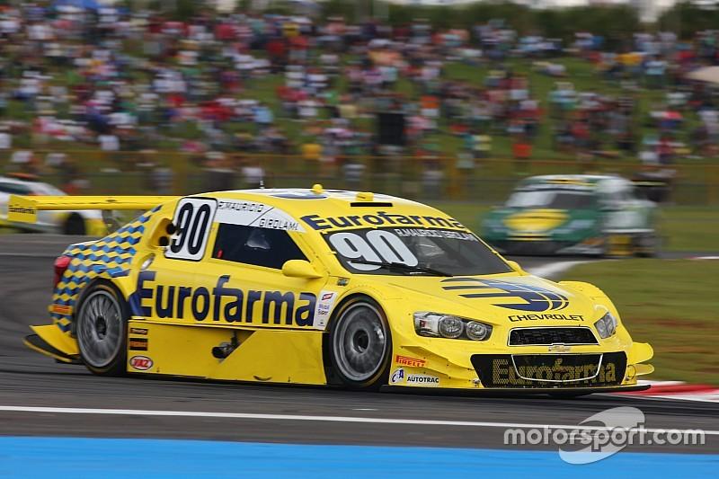 Felipe Fraga and Ricardo Maurício are the first Stock Car winners in Minas Gerais