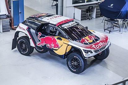 Peugeot zeigt Autodesign für Rallye Dakar 2017