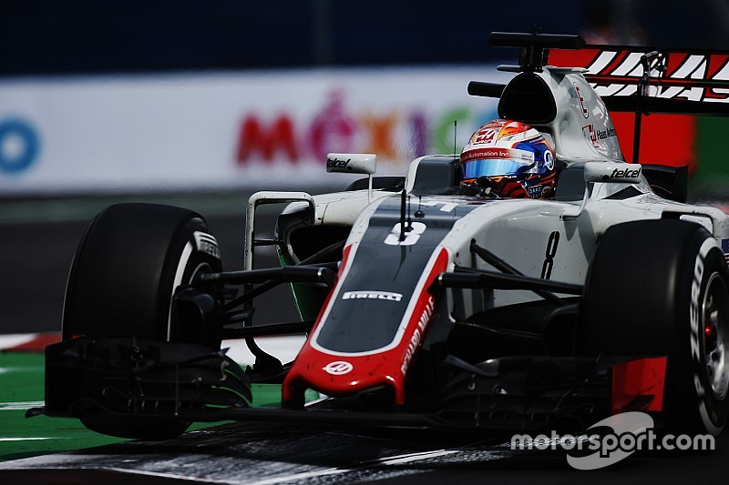 Grosjean vise le top 7 pour Haas en 2017