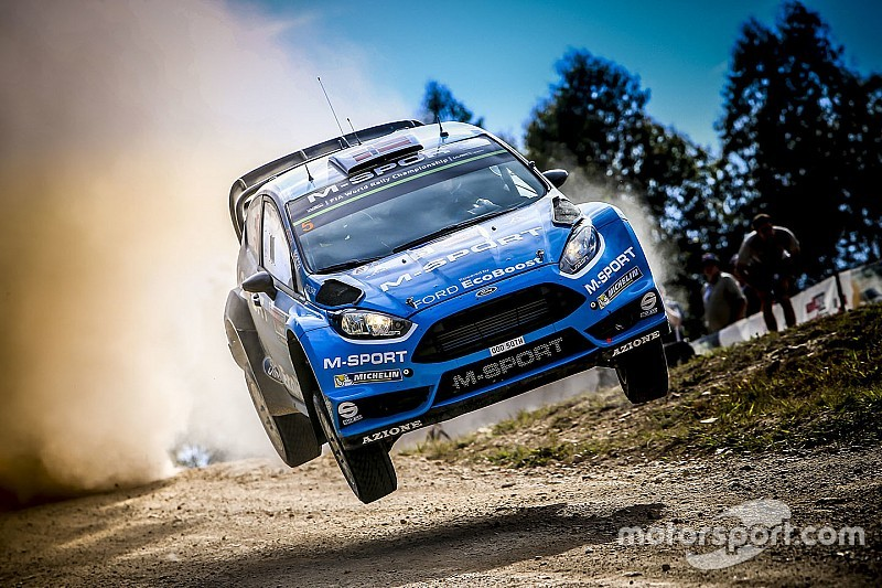 Østberg rend hommage à la Fiesta RS WRC