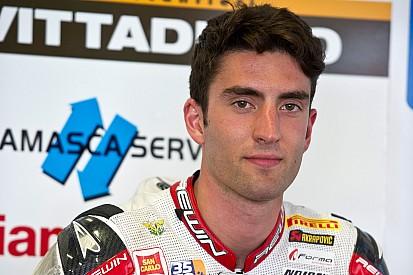 Marco Faccani in Stock 1000 con Althea Racing nel 2017
