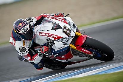 Bildergalerie: Stefan Bradl testet sein neues Honda-Superbike