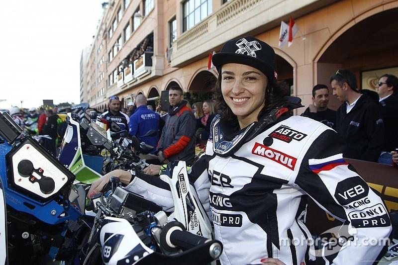Russische Dakar-debutante test positief op doping