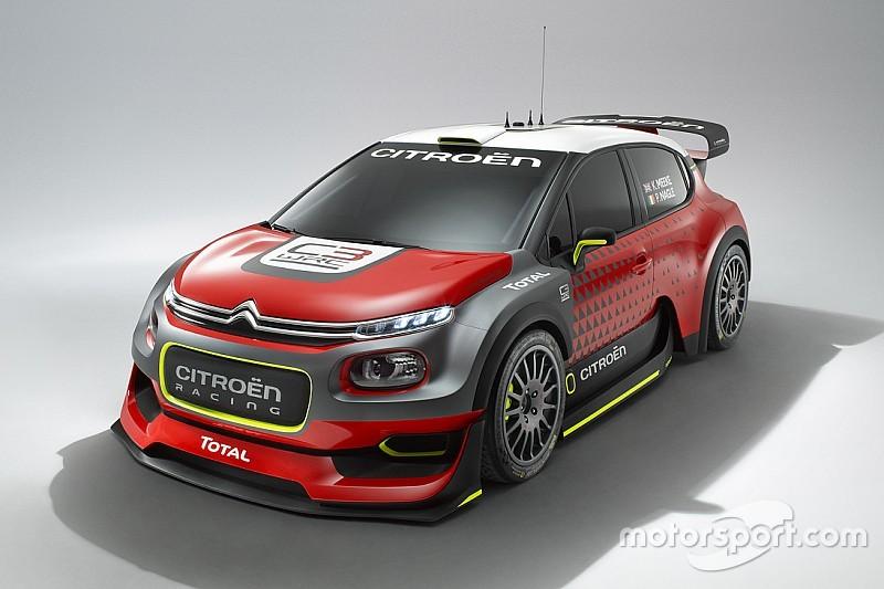 Citroen esporrà al Motor Show 2016 di Bologna la C3 WRC Plus Concept