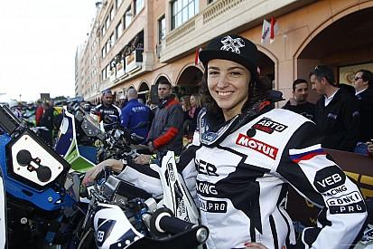 Suspenden por doping a una motociclista rusa antes de su debut en el Dakar