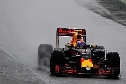 Verstappen hóban gyakorolt a Brazil Nagydíjra!