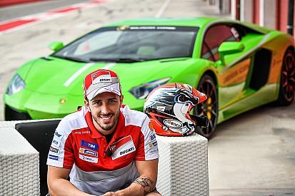 MotoGP-rijder Dovizioso maakt racedebuut in Lamborghini Super Trofeo