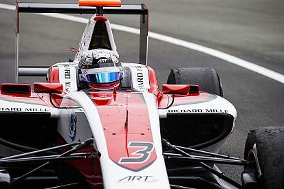 Элбон показал лучшее время тренировки GP3 в Абу-Даби