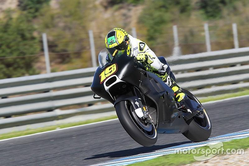 Bautista beaucoup plus rapide avec la Ducati ; Aspar est séduit