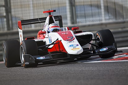 GP3 Abu Dhabi: Albon op pole, De Vries op vier