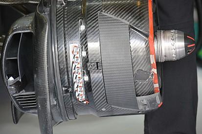 McLaren: quanti sensori sulla brake duct anteriore della MP4-31!