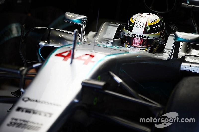 Hamilton fecha sexta à frente de Rosberg em Abu Dhabi