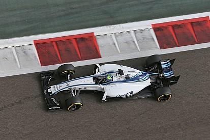 A Williamsek egész jól mennek Massa búcsúversenyén!