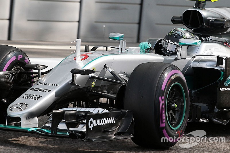Rosberg - Le graining sur les pneus avant est le principal problème