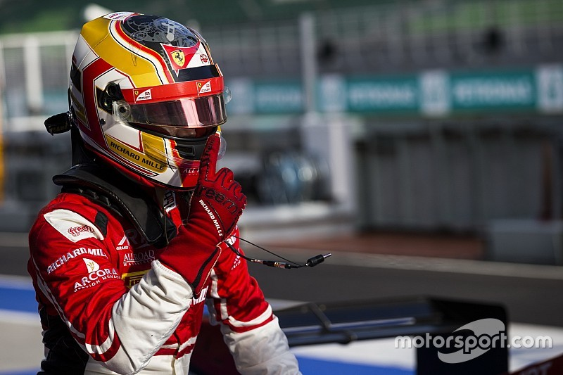 Leclerc, campeón de GP3 tras doble abandono de los dos aspirantes