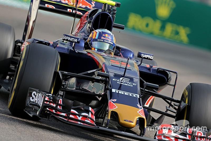 Toro Rosso modifie sa suspension pour rouler en EL3