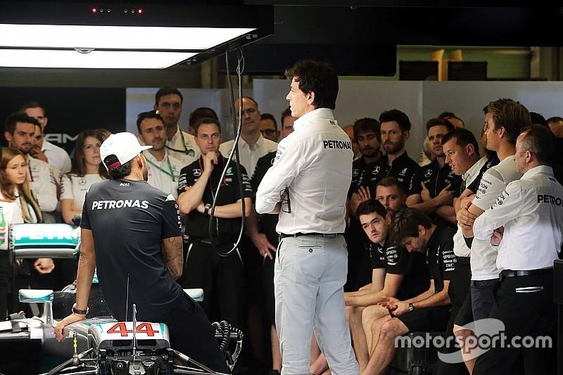 Wolff Hamilton-Rosberg mühendis değişikliğinde art niyet yok