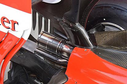 Ferrari: il terminale dello scarico è realizzato dal pieno!