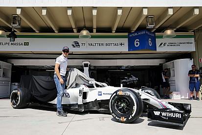 Mobil Williams FW38 jadi hadiah perpisahan untuk Massa
