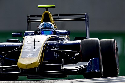GP3 Abu Dhabi: Hughes juara Sprint Race, Albon kecelakaan lagi