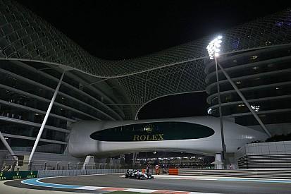 Grid start balapan GP Abu Dhabi 2016
