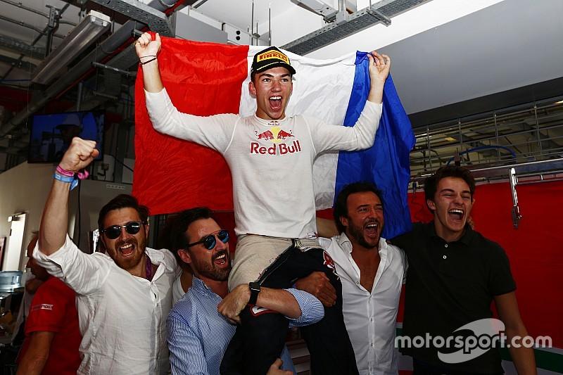 GP2 Abu Dhabi: Lynn juara sprint race, Gasly rebut titel 2016
