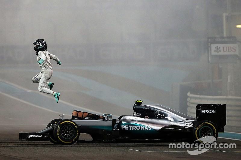 Rosberg wereldkampioen Formule 1 2016 na zinderende slotrace in Abu Dhabi