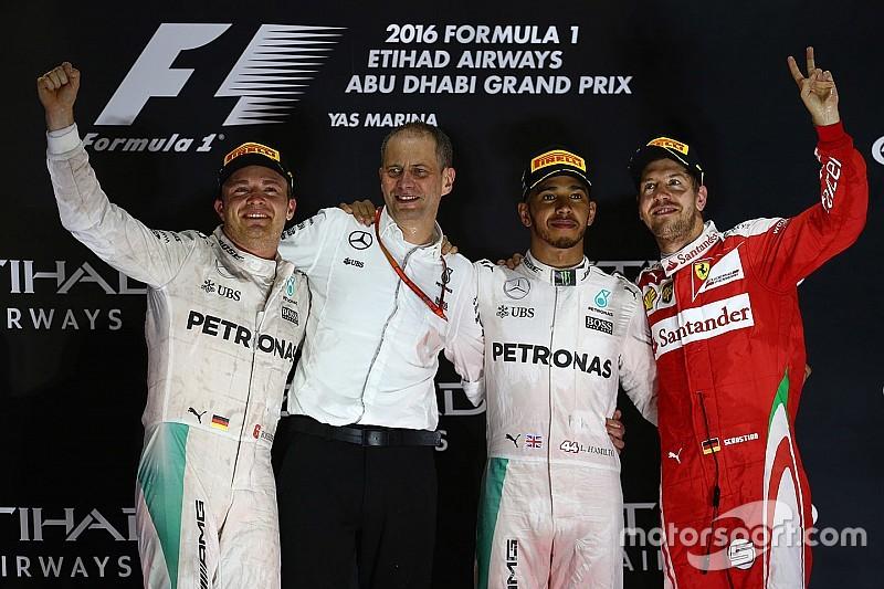 Гран Прі Абу-Дабі: особистий залік і Кубок конструкторів