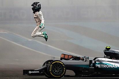 """Rosberg: """"È pazzesco! È stata una gara davvero intensa!"""""""
