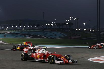 【F1】ライコネン「最初のソフトタイヤで苦労。戦略の違いで、ベッテルを先行させた」