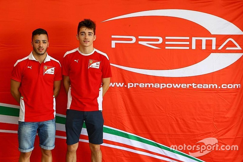Prema bevestigt Leclerc en Fuoco voor GP2-seizoen 2017
