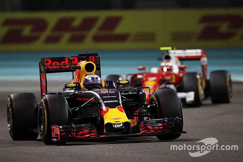 Red Bull e Ricciardo divergem sobre estratégia em Abu Dhabi