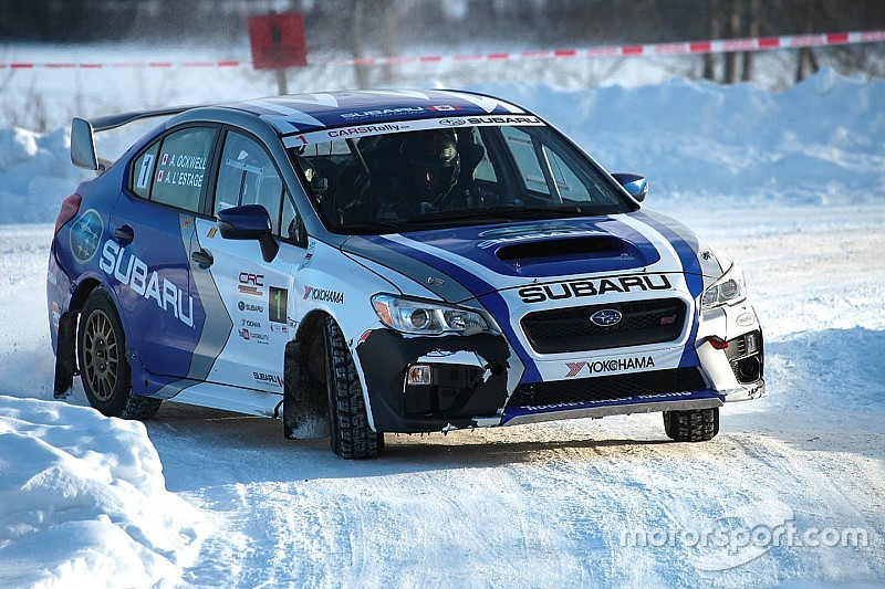 Antoine L'Estage wins Rally of the Tall Pines