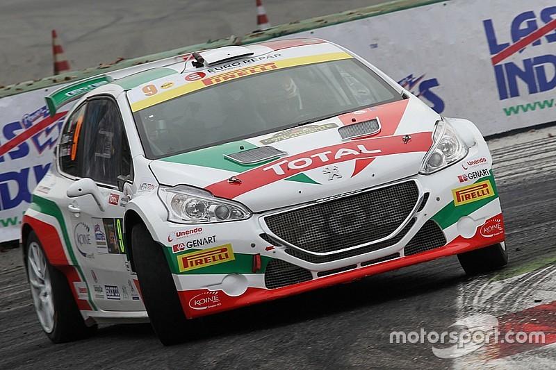 Peugeot al Monza Rally Show con Andreucci, Testa e Tavelli