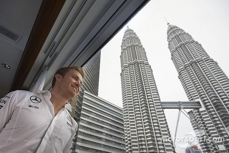 Galería: El campeón Rosberg celebra su título en Kuala Lumpur