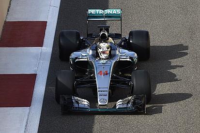 【F1】急遽タイヤテストに参加したハミルトン。「感触が良くない」と早々にテスト切り上げ