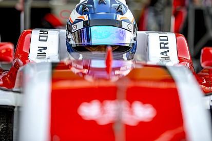 Nyck de Vries en Dani Juncadella in actie tijdens tweede GP2-testdag