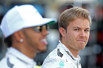 """Rosberg: """"Es imposible mantener una relación de amistad con Hamilton"""""""