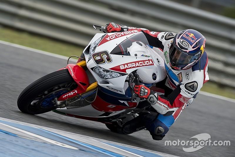 Stefan Bradl a commencé à prendre ses marques en Superbike