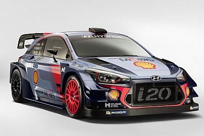 Hyundai présente la i20 Coupe WRC 2017
