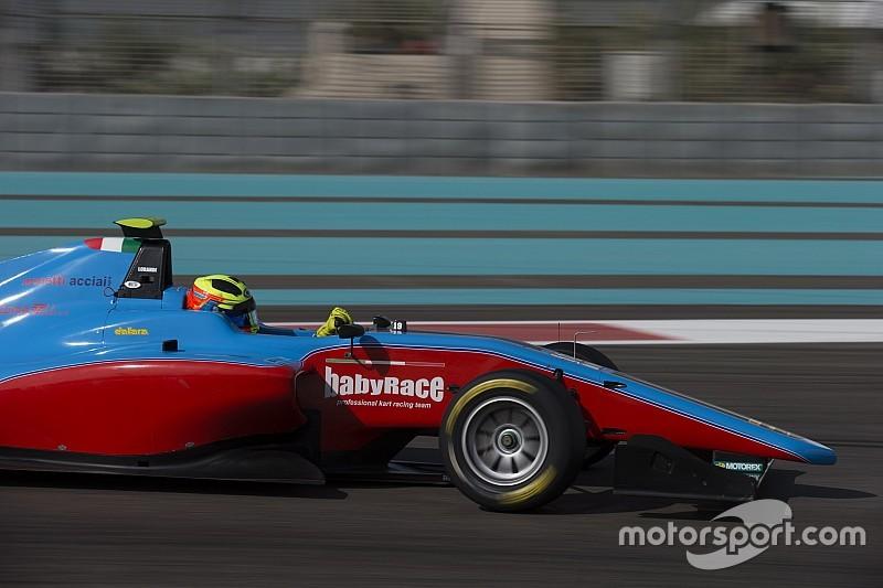 Test Abu Dhabi, Day 2: bella zampata di Alessio Lorandi