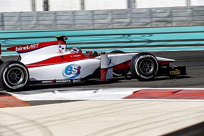 GP2: Albon fue el más rápido en el primer test de Juncadella con Campos