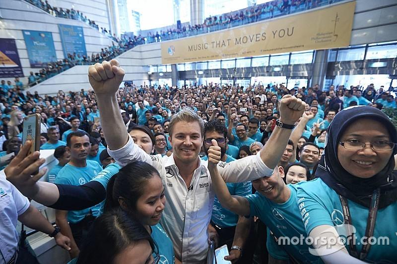 """Rosberg: """"Il mio titolo affonda le radici alla fine dello scorso anno"""""""