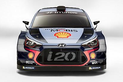 【WRC】ヒュンダイ、2017年規定WRカーを公開。ドライバーラインアップに変更なし