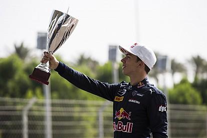 """Pierre Gasly, champion GP2 - """"Un poids énorme qui s'enlève"""""""