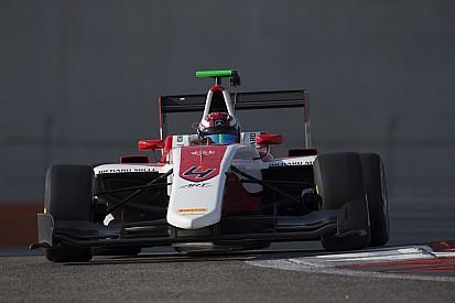Russell domineert laatste dag van GP3-test Abu Dhabi